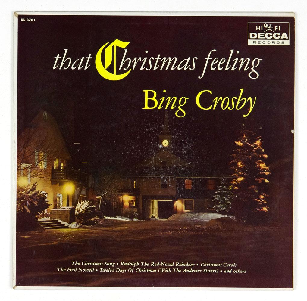 Bing Crosby Vinyl LP 1960 That Christmas Feeling