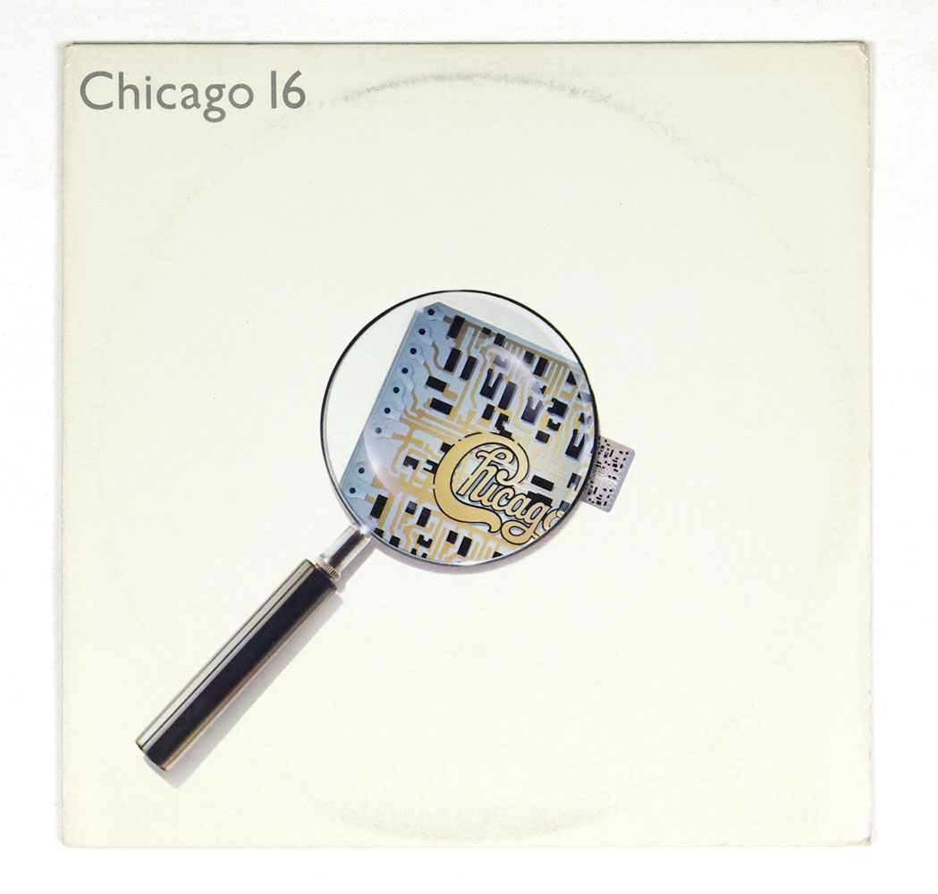 Chicago Vinyl LP 16 1982