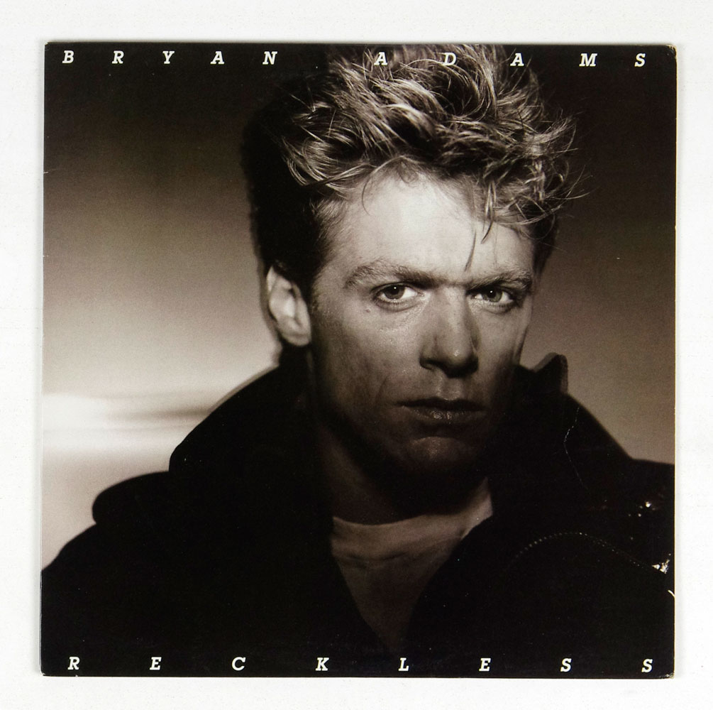 Bryan Adams Vinyl LP Reckless 1984