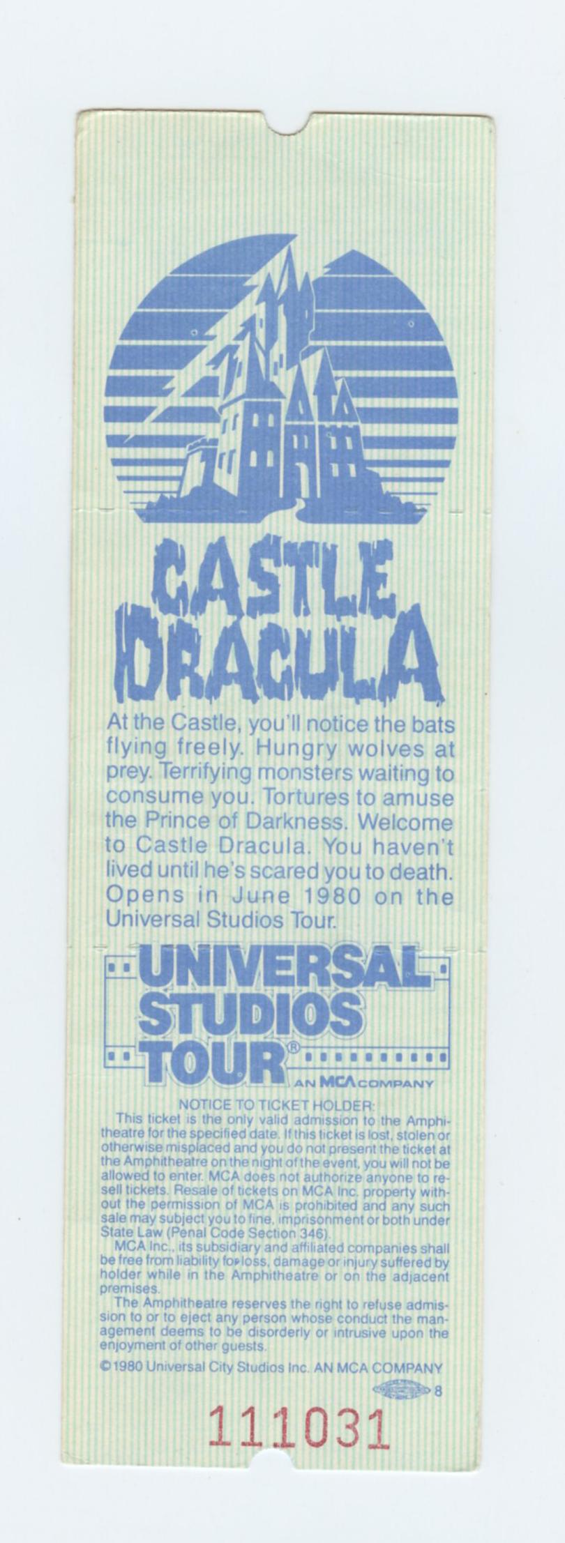 Al Stewart Ticket 1980 Sep 15 Universal Amphitheatre Unused