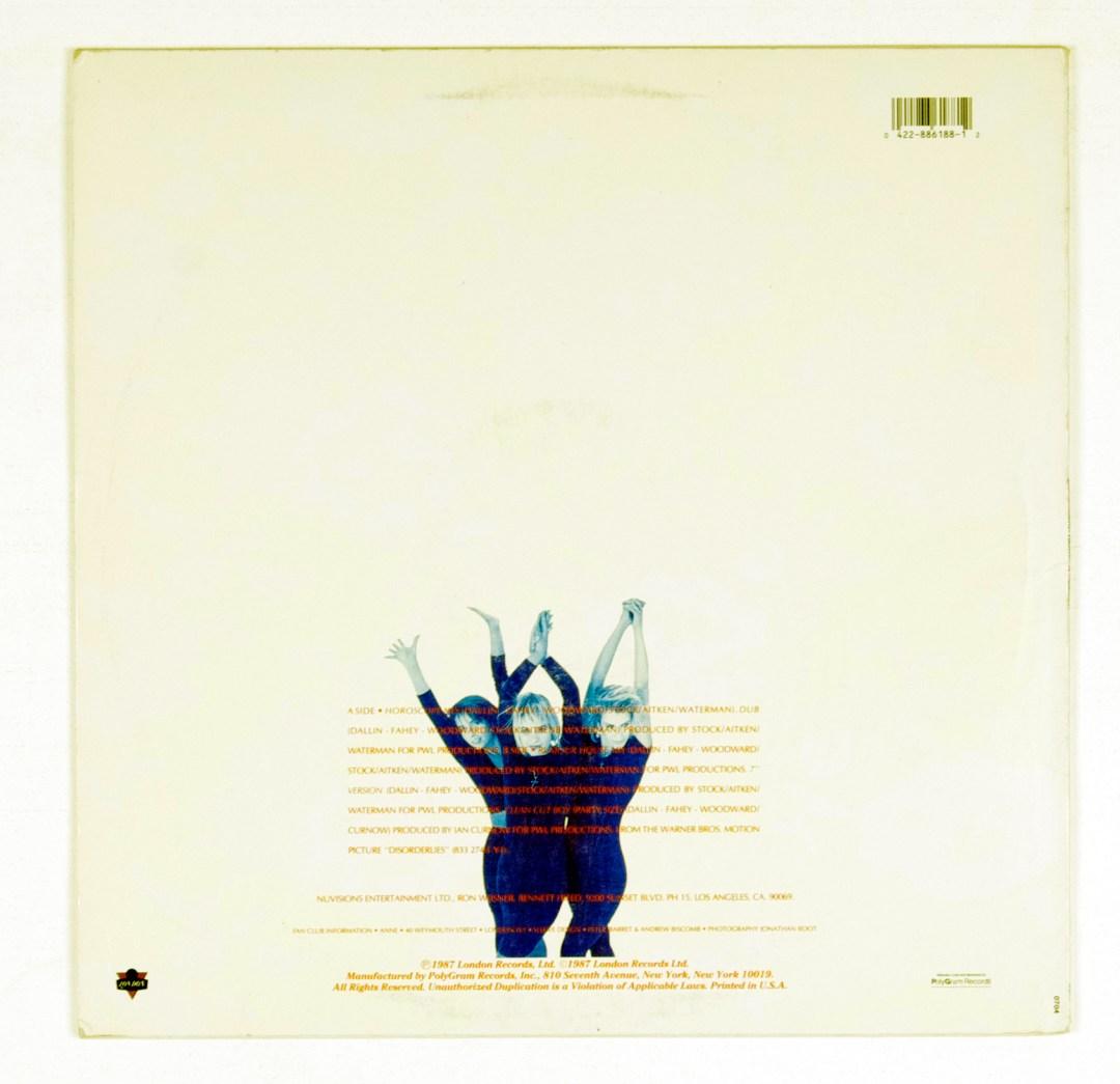 Bananarama Vinyl LP I Heard A Rumour 1987