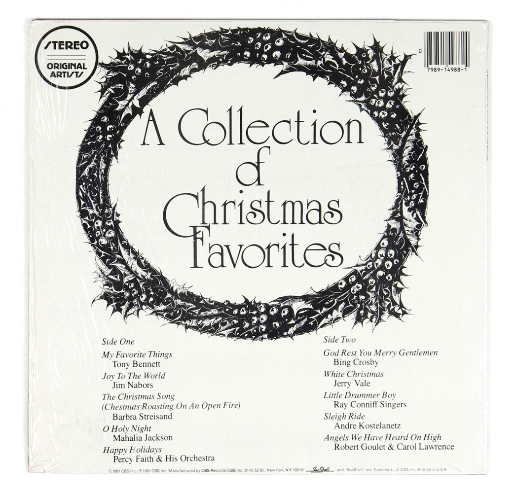 A Collection Of Christmas Favorites Vinyl LP 1981