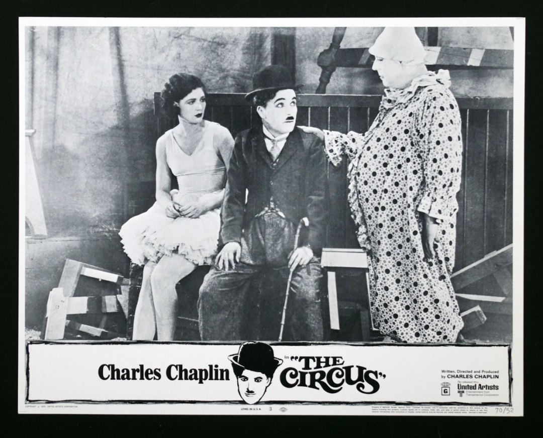 Charlie Chaplin The Circus 11x14 Lobby Card Set of 8