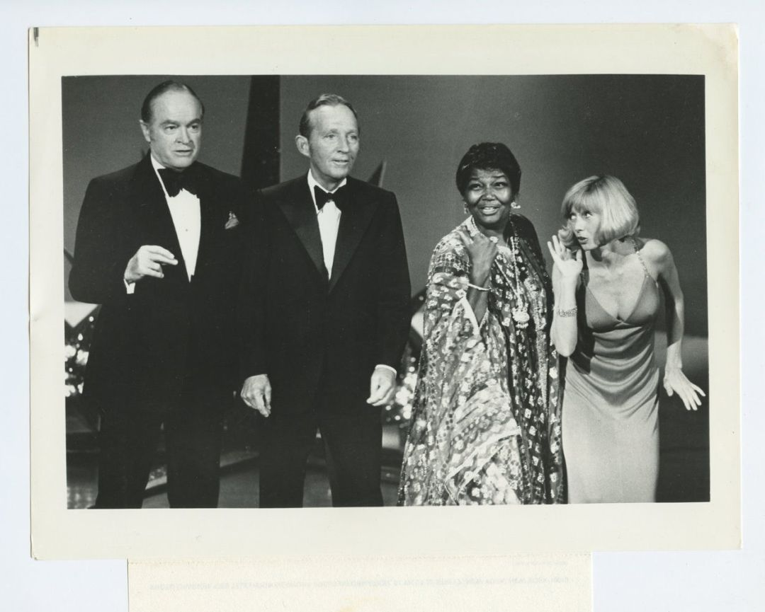 Bing Crosby Bob Hope Promo Photo set of 3 CBS TV Show 1974 Sep 13