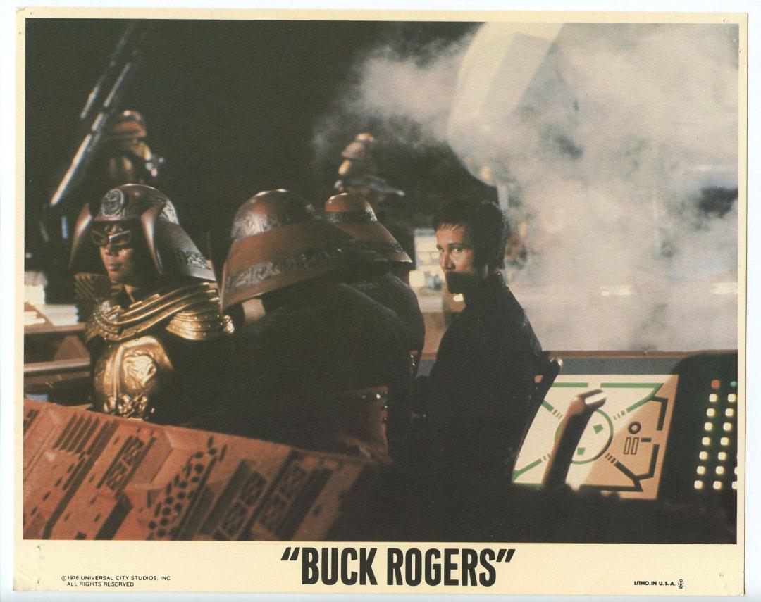 Buck Rogers Lobby Cards Set of 3 1978 Gil Gerard Erin Gray Pamela Hensley