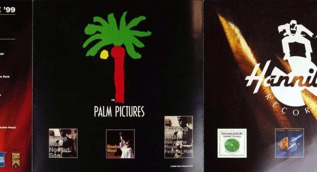 Africa Fete Poster Flat 1999 John F Kennedy Center Promo 12 x 12