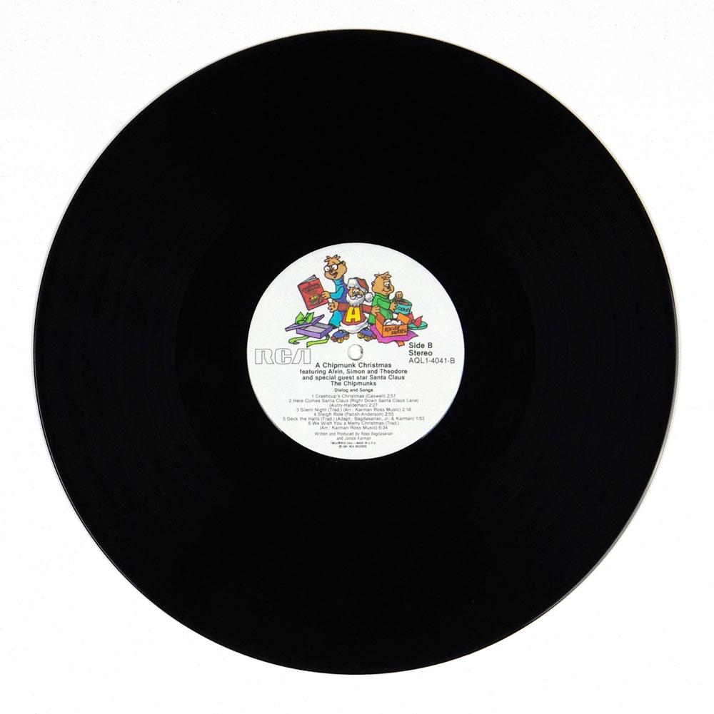 A Chipmunk Christmas Alvin & The Chipmunks Vinyl LP Gatefold 1981