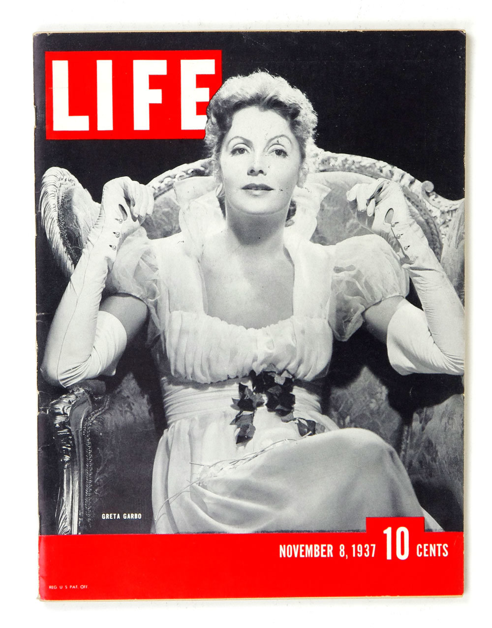 LIFE Magazine 1937 November 8 Greta Garbo