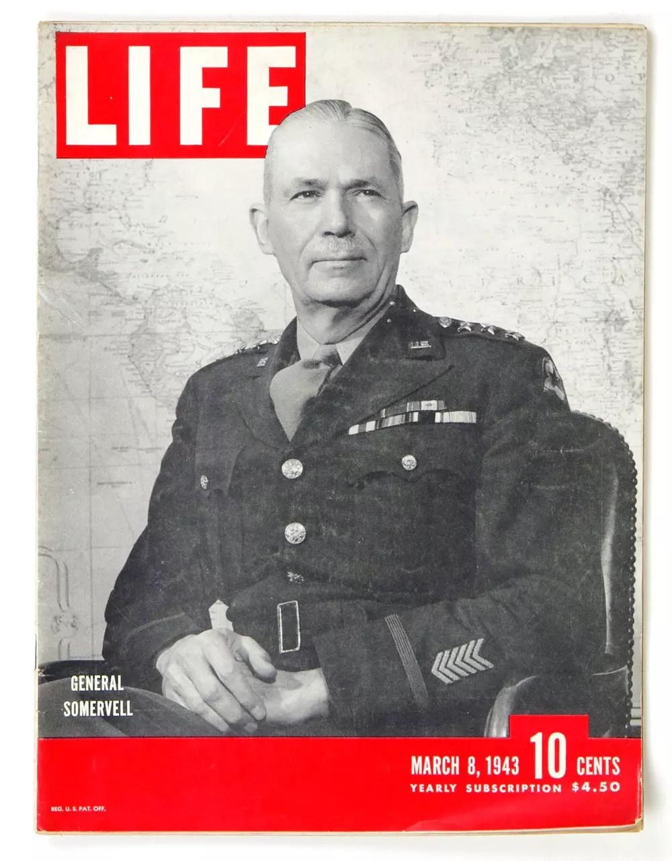 LIFE Magazine 1943 March 8 General Somervell