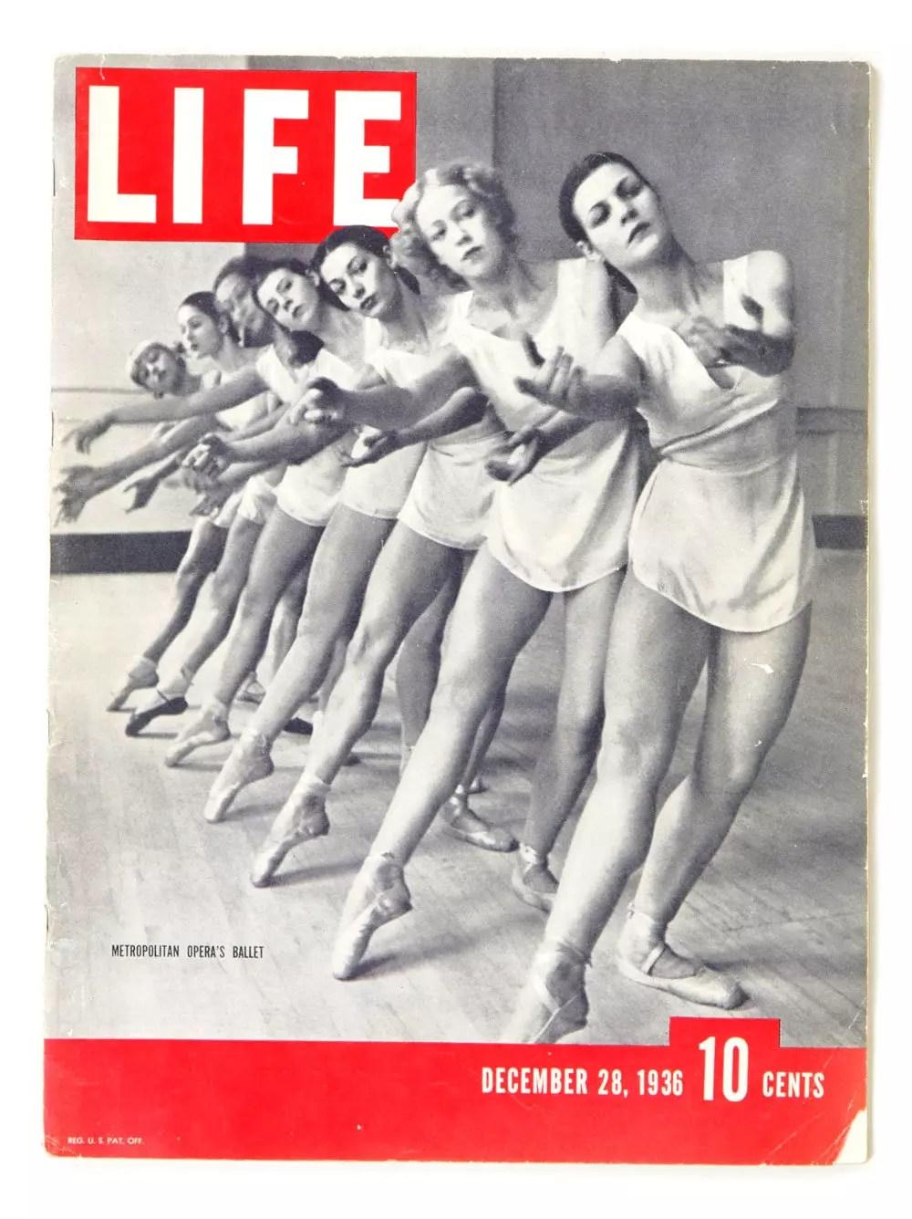 LIFE Magazine 1936 December 28 Metropolitan Opera's Ballet