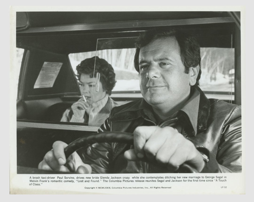 Paul Sorvino Glenda Jackson 1973 A Touch of Class 8x10 Lobby Card