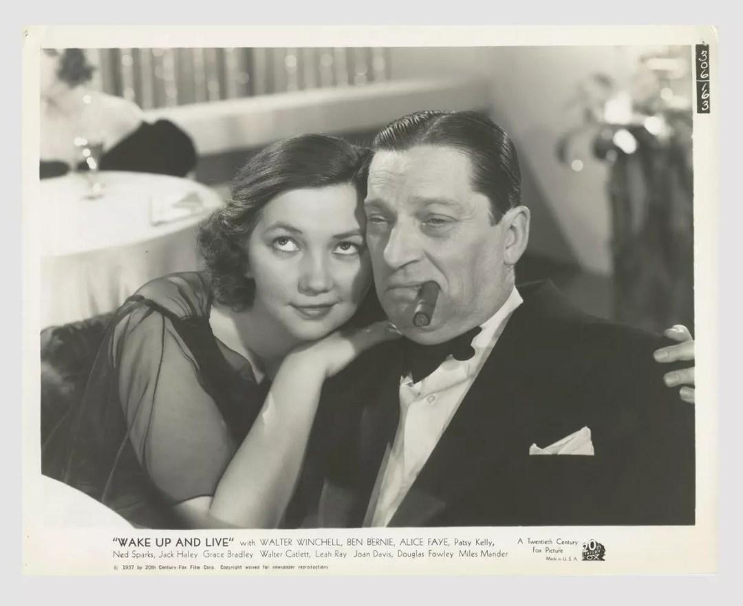 Alice Faye 1937 Wake Up and Live Lobby Card