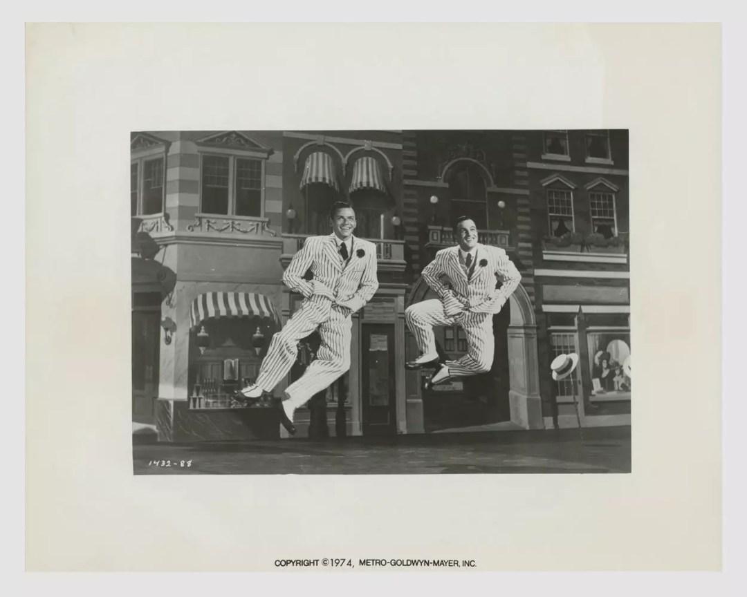 Gene Kelly Frank Sinatra 1974 That's Entertainment Lobby Card