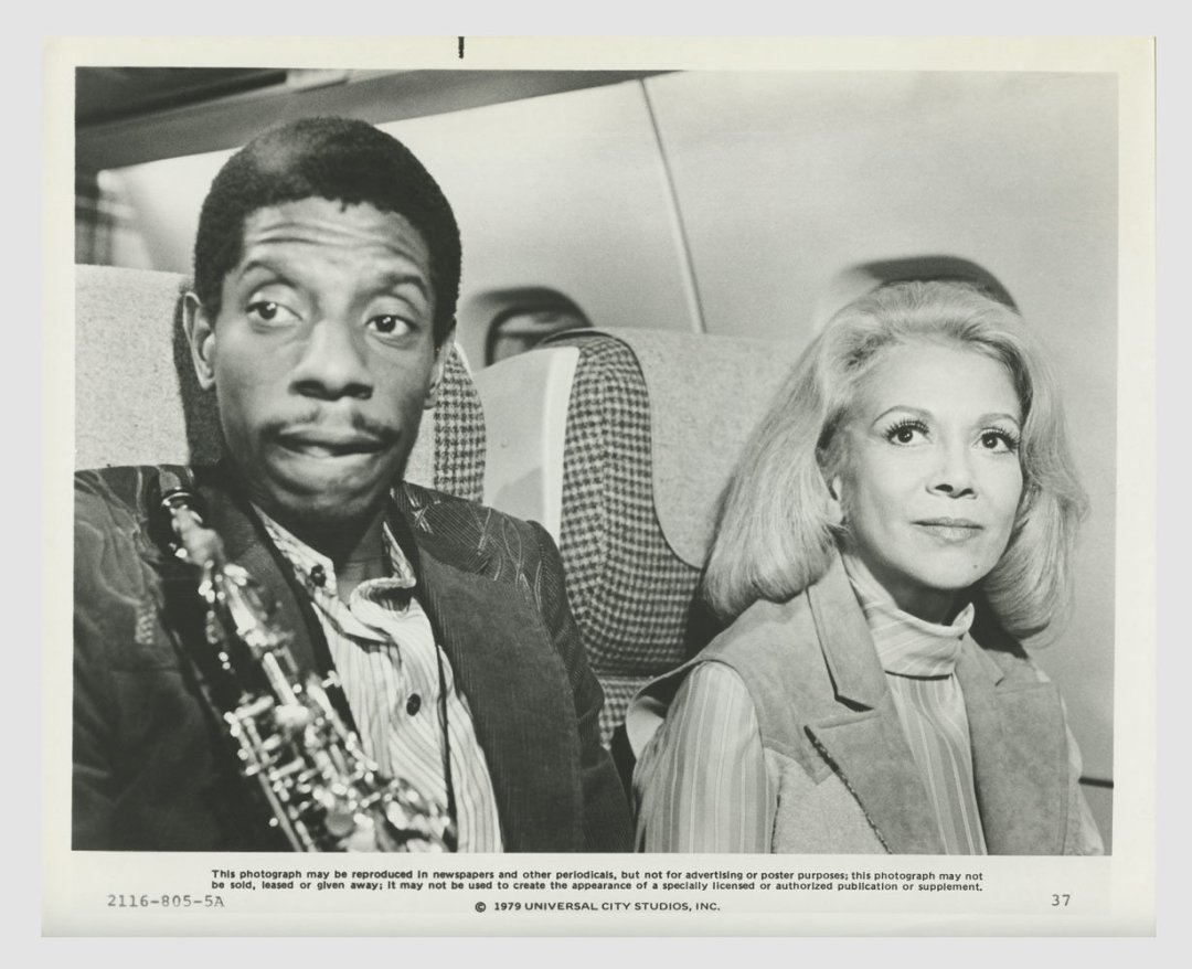 Jimmie Walker Monica Lewis The Concorde Airport 79 Lobby Card 8x10