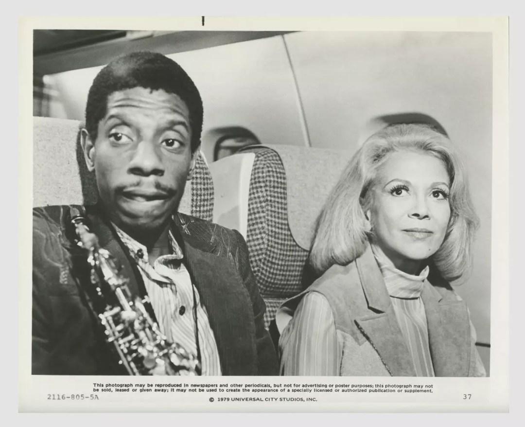 Jimmie Walker Monica Lewis The Concorde Airport 79 Lobby Card