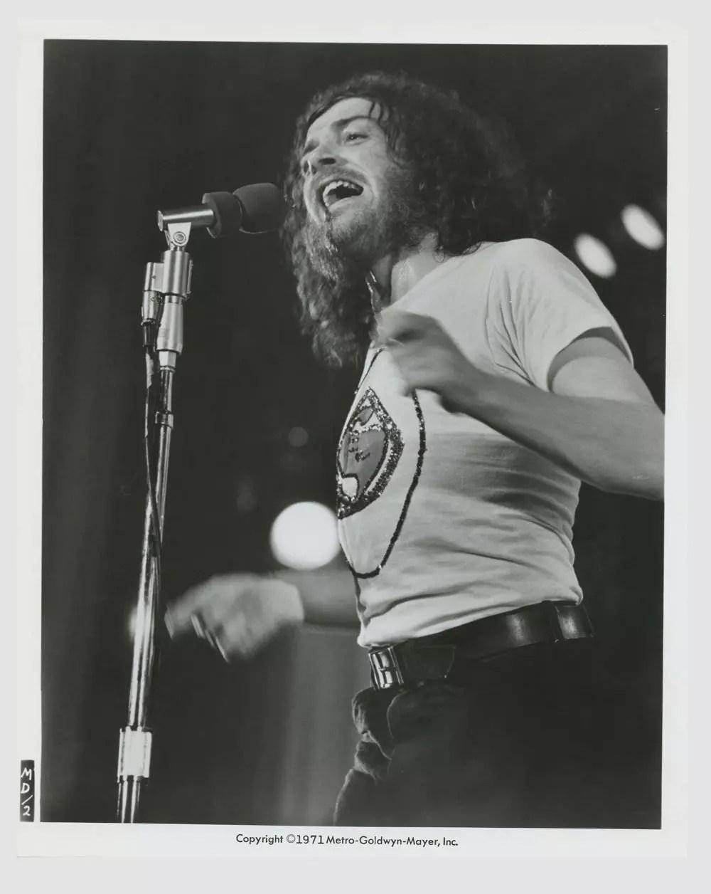 Joe Cocker 1971 Mad Dogs and Englishmen Lobby Card