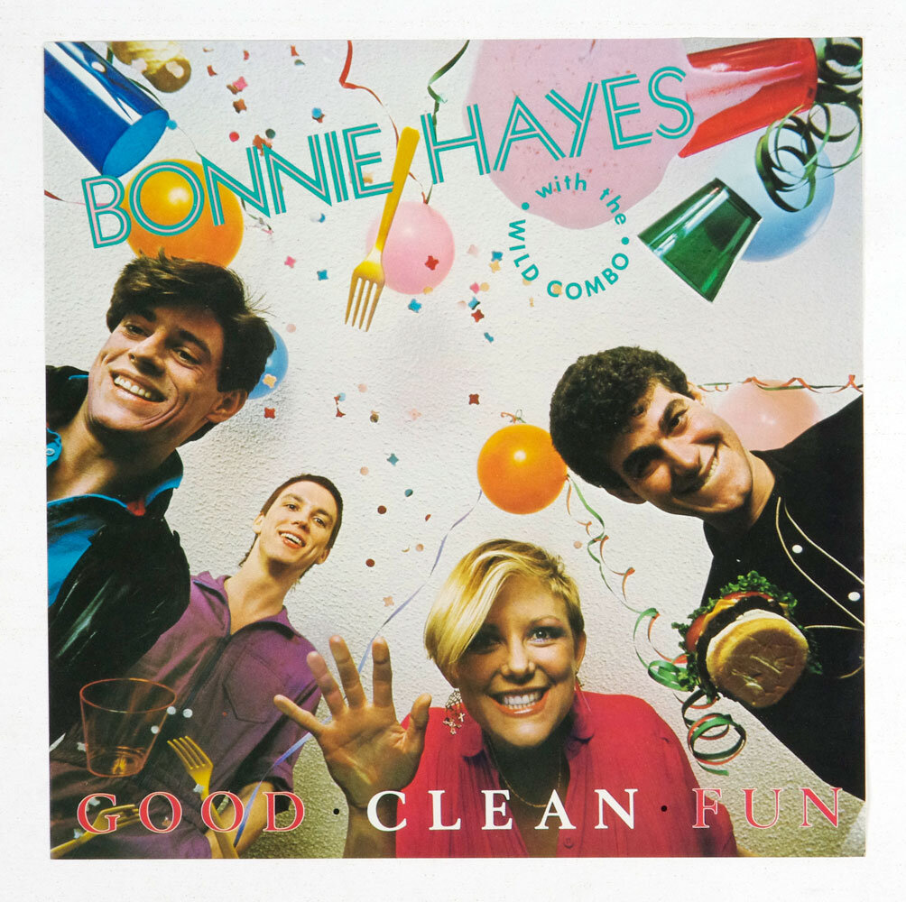 Bonnie Hayes Poster 12 x 12 Good Clean Fun 1982 Promotion