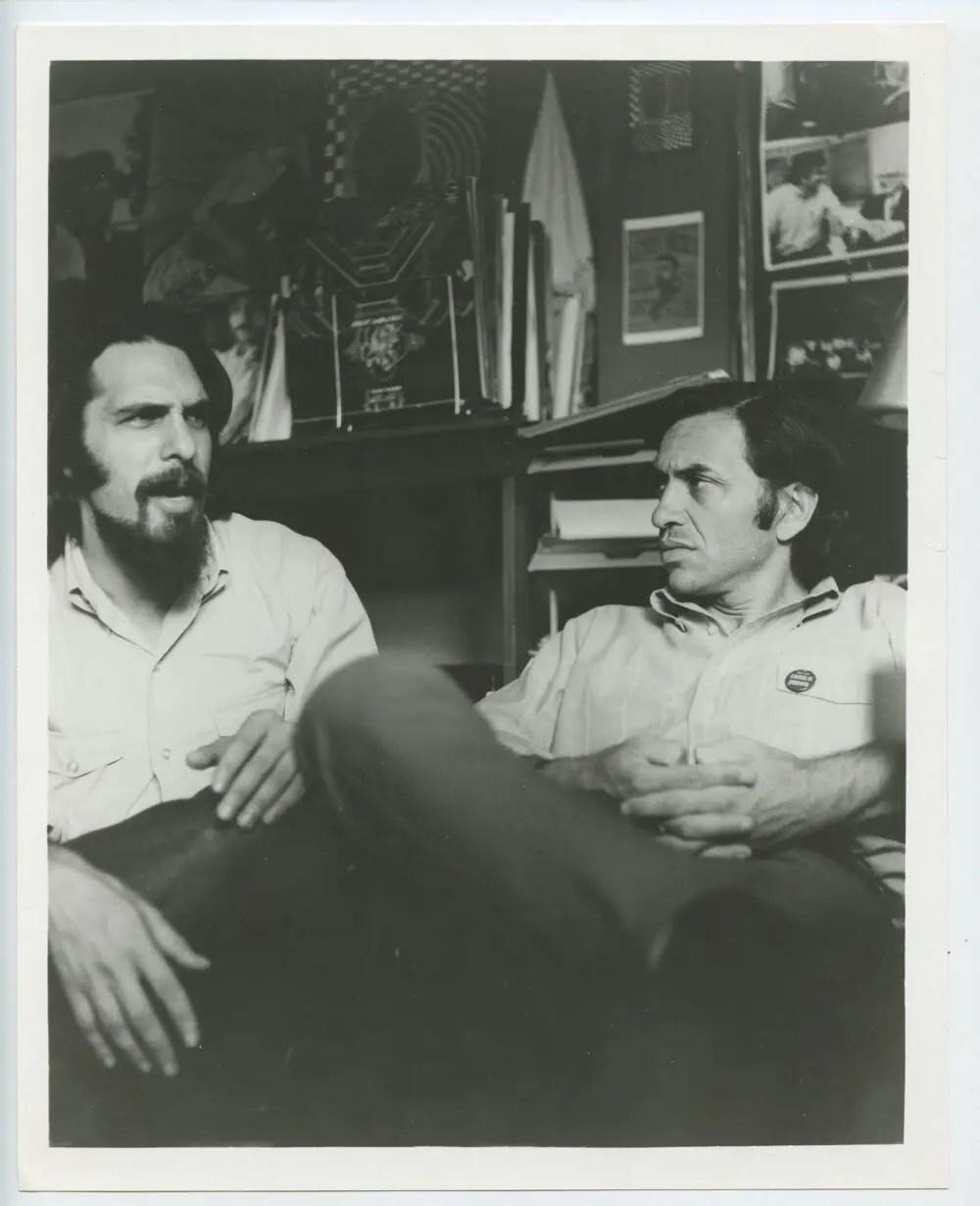Bill Graham Photo w/ David Rubinson 1970
