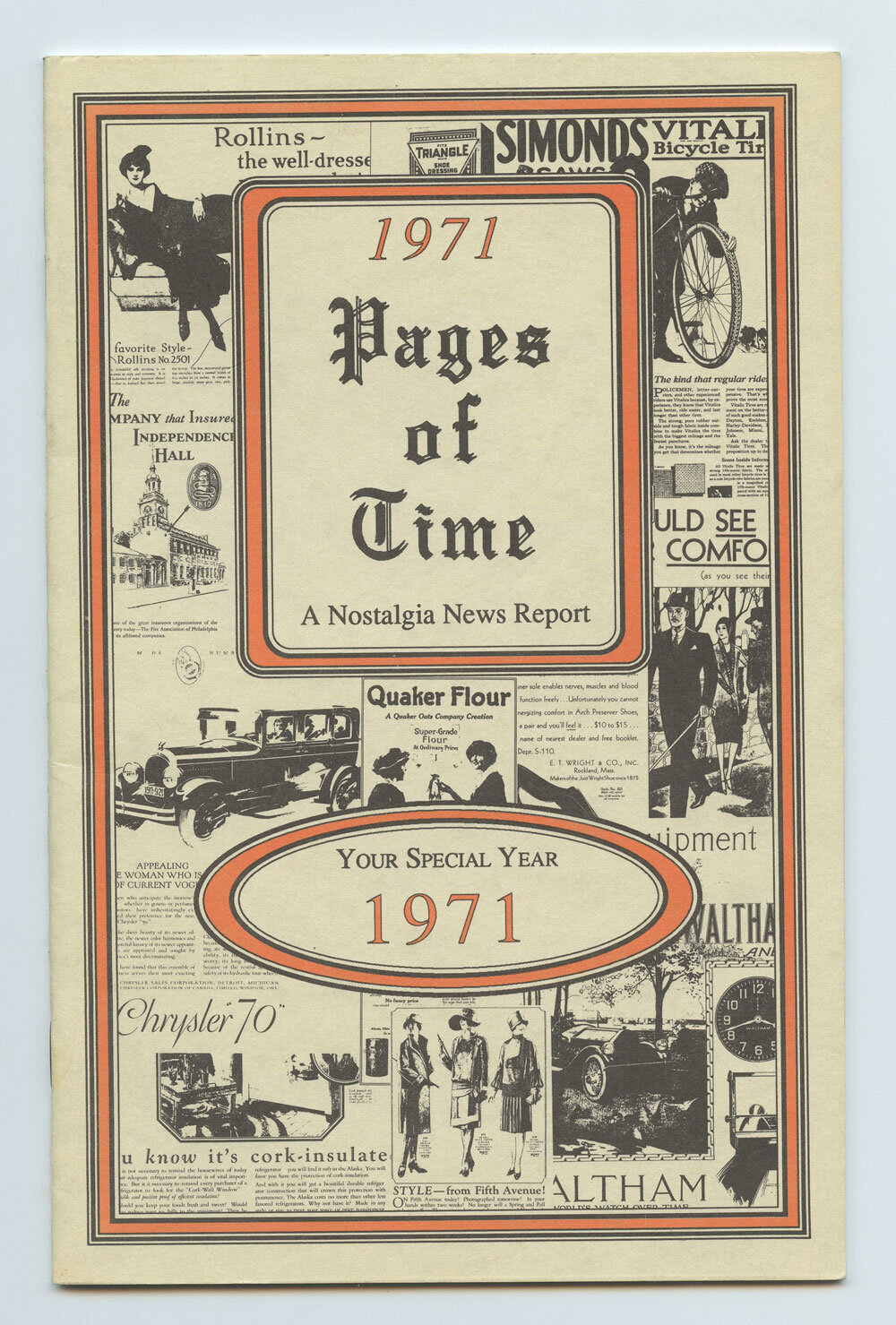1971 Pages of Time Kardlet