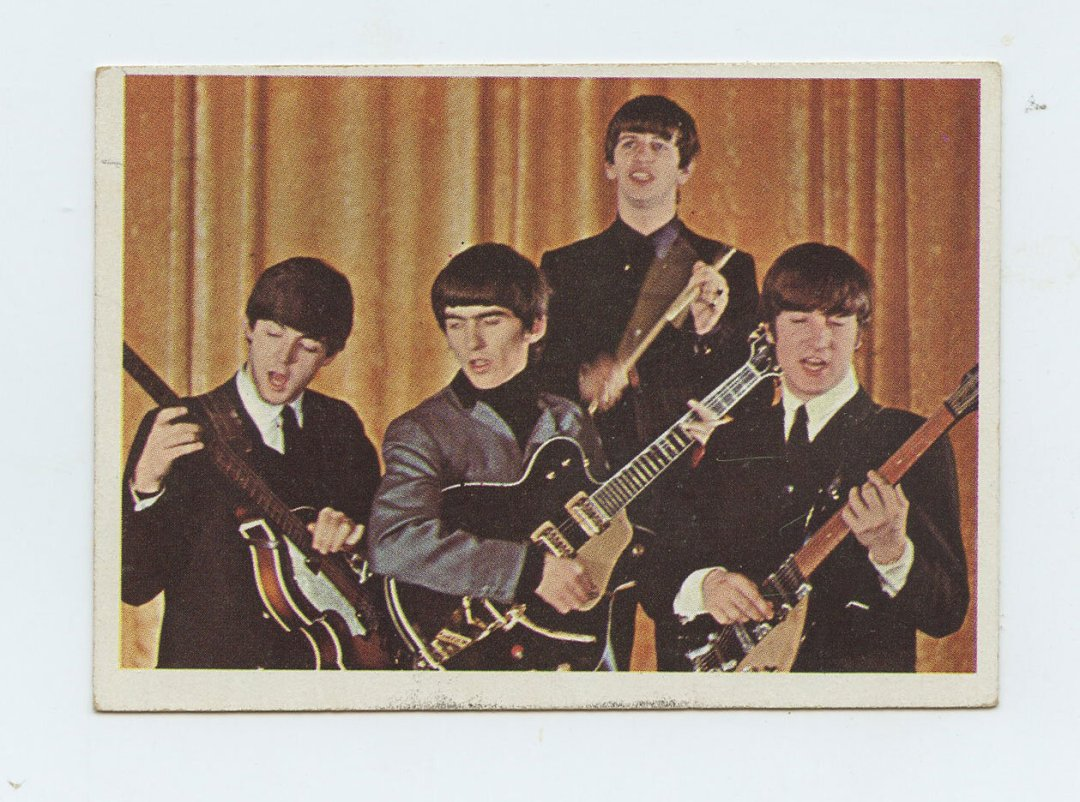 The Beatles Card 1964 Topps Color #22
