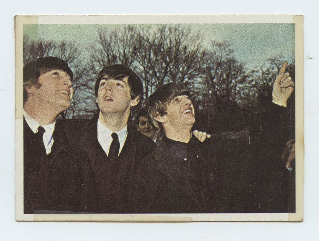 The Beatles Card 1964 Topps Color #23