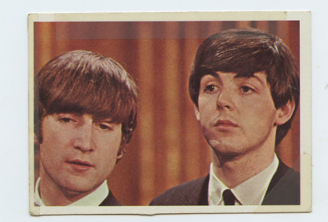 The Beatles Card 1964 Topps Color #13