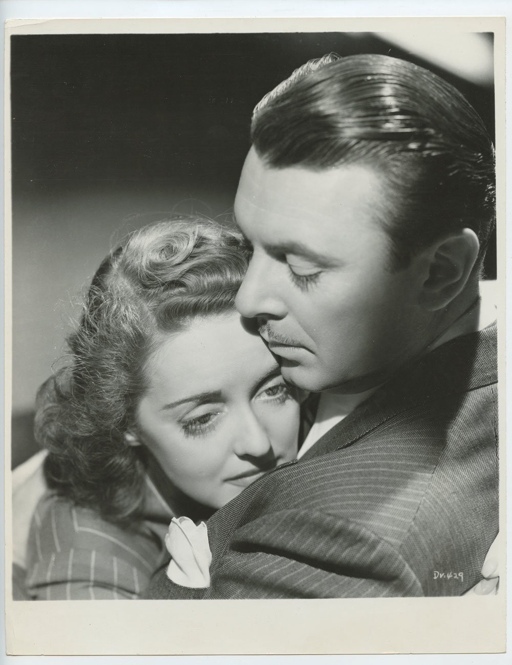 Bette Davis Photo George Brent 1939 Dark Victory