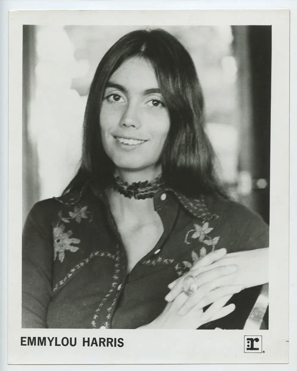 Emmylou Harris Photo 1975 Reprise Records Original Vintage