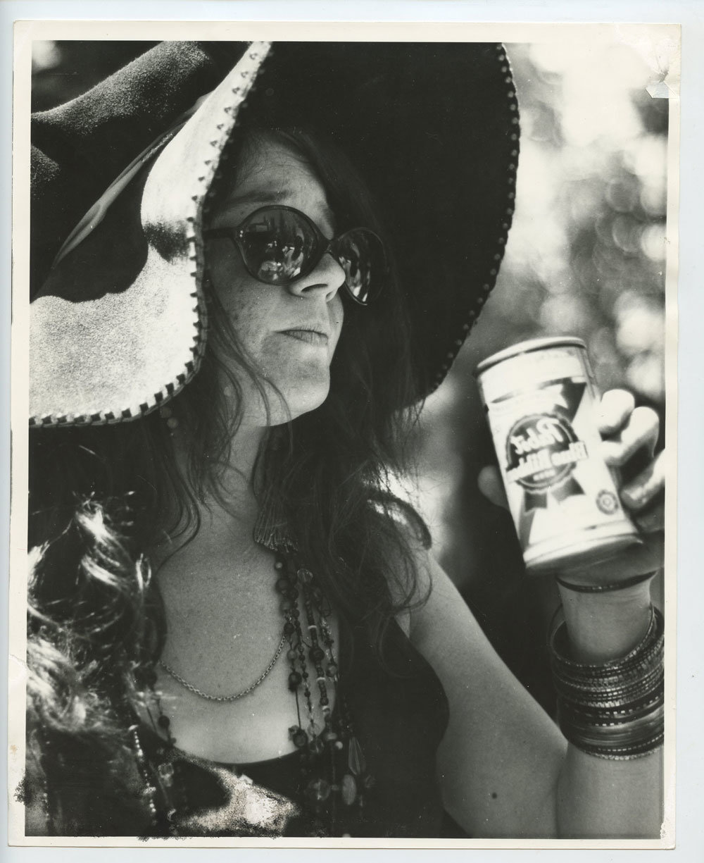 Janis Joplin Photo 1967 Jun 18 Monterey International Pop Music Festival Original