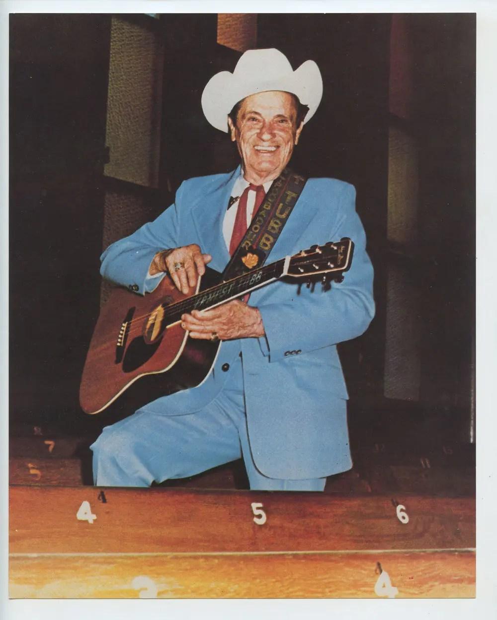 Ernest Tubb Photo 1970s Publicity Promo