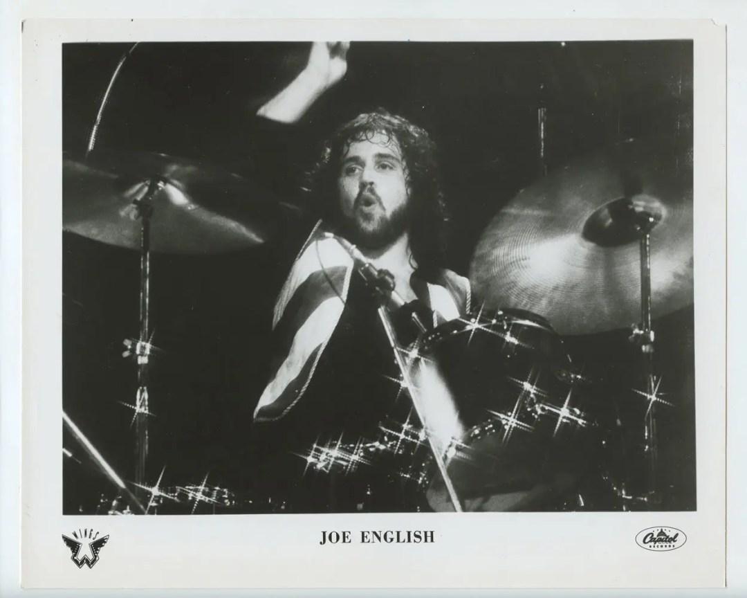 Joe English Photo 1971 Publicity Promo Capital Records