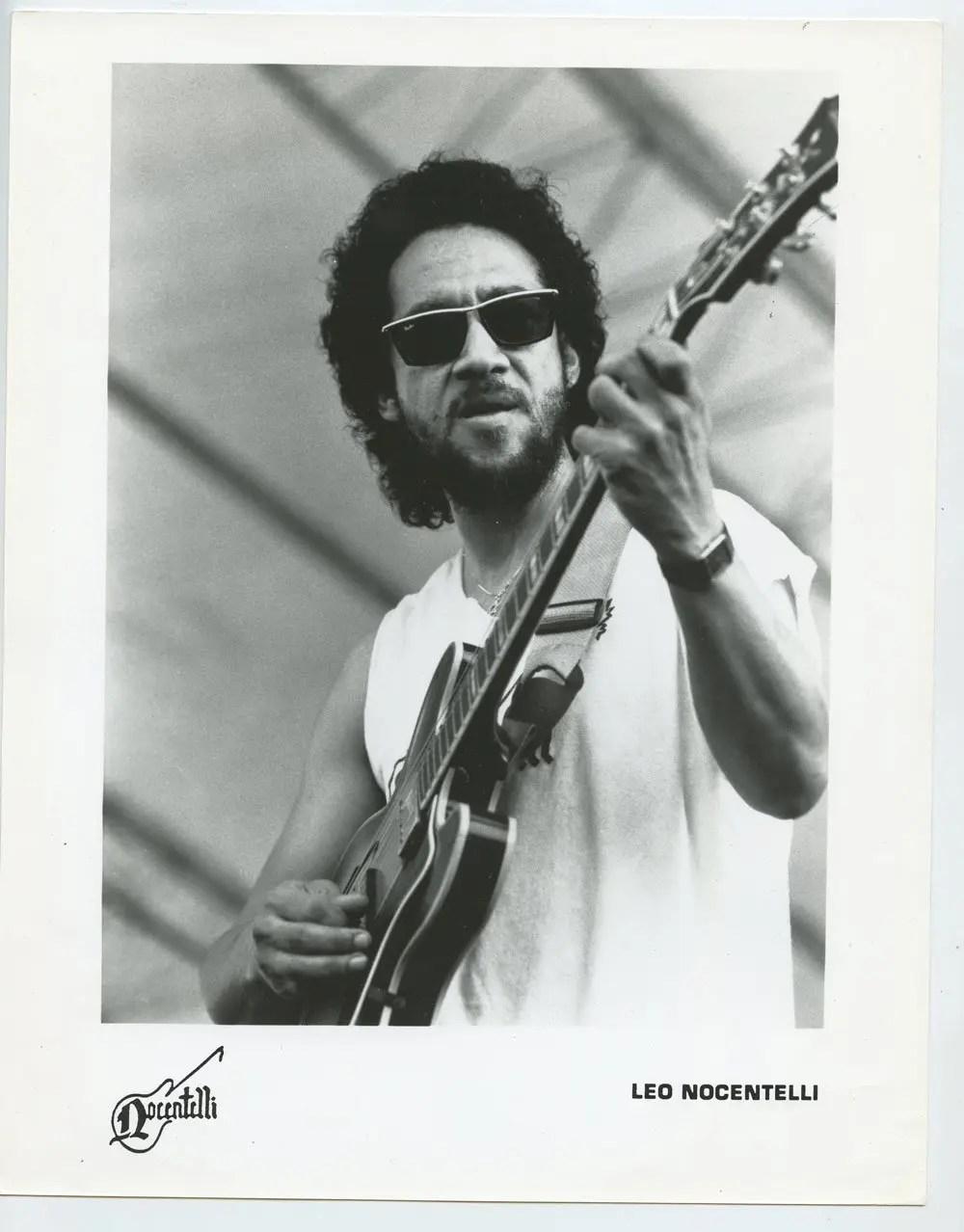 Leo Nocentelli Photo 1990s Publicity Promo