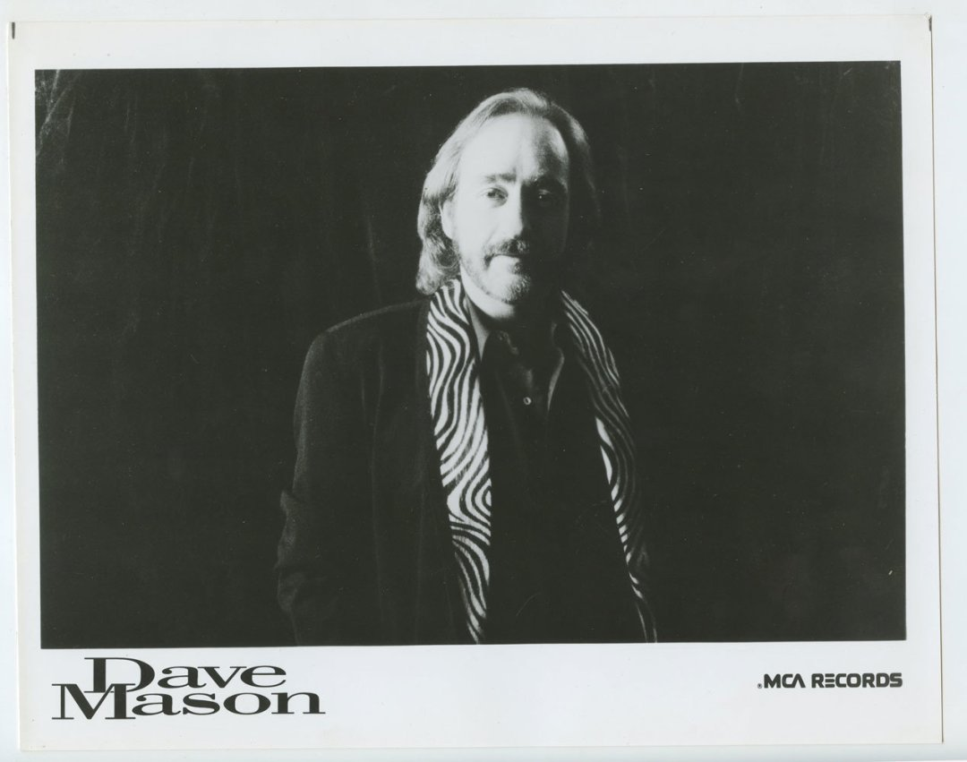 Dave Mason Photo 1987 Publicity Promo MCA Records
