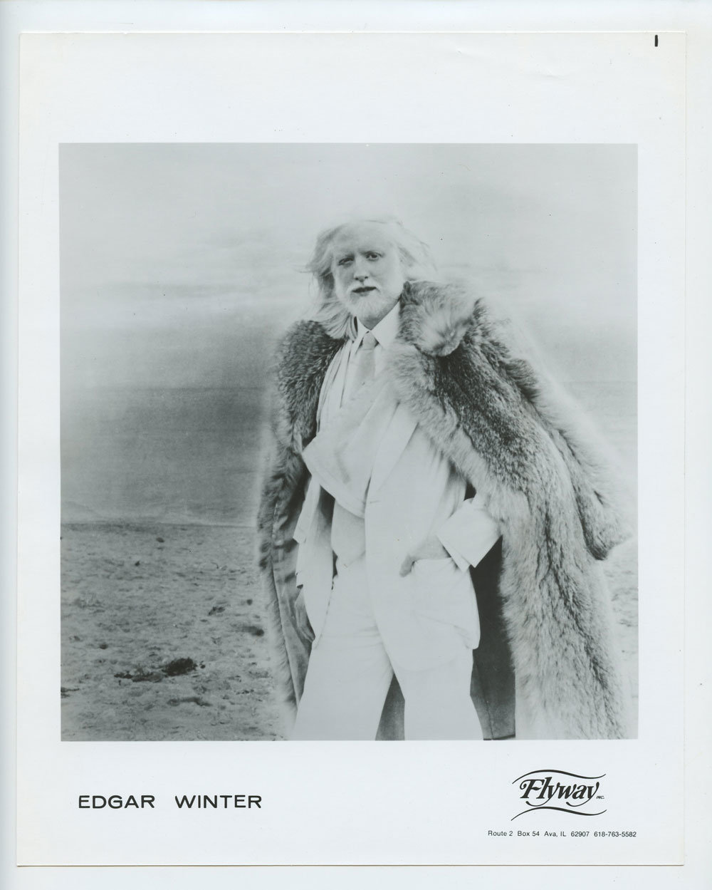 Edgar Winter Photo 1979 The Edgar Winter Album Promo
