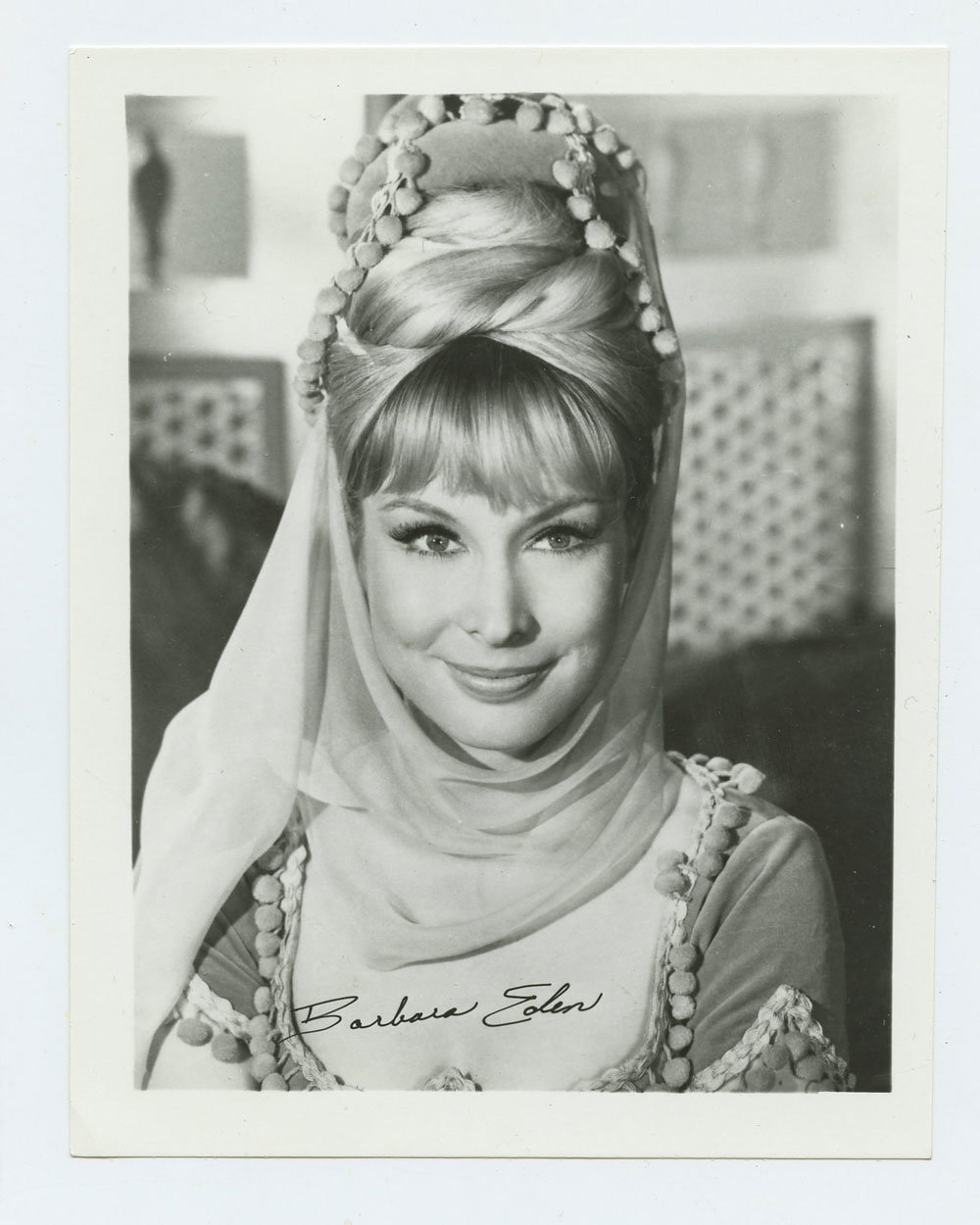 Barbara Eden Photo 1965 I Love Jeannie Publicity Photo