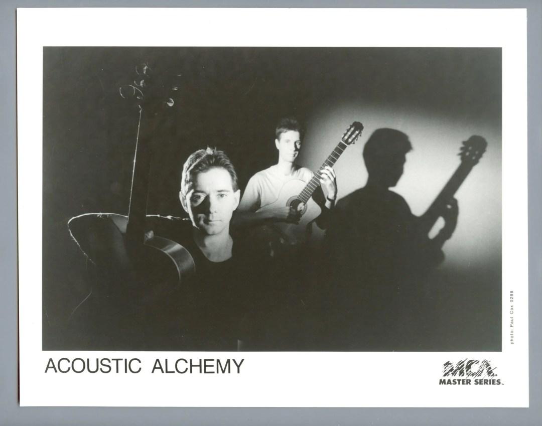 Acoustic Alchemy Publicity Promo MCA Records 1987
