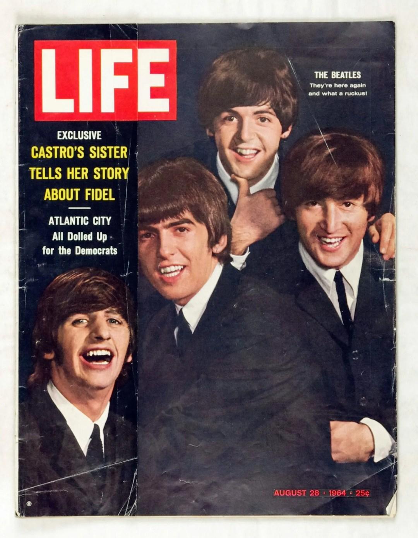 LIFE Magazine 1964 August 28 The Beatles