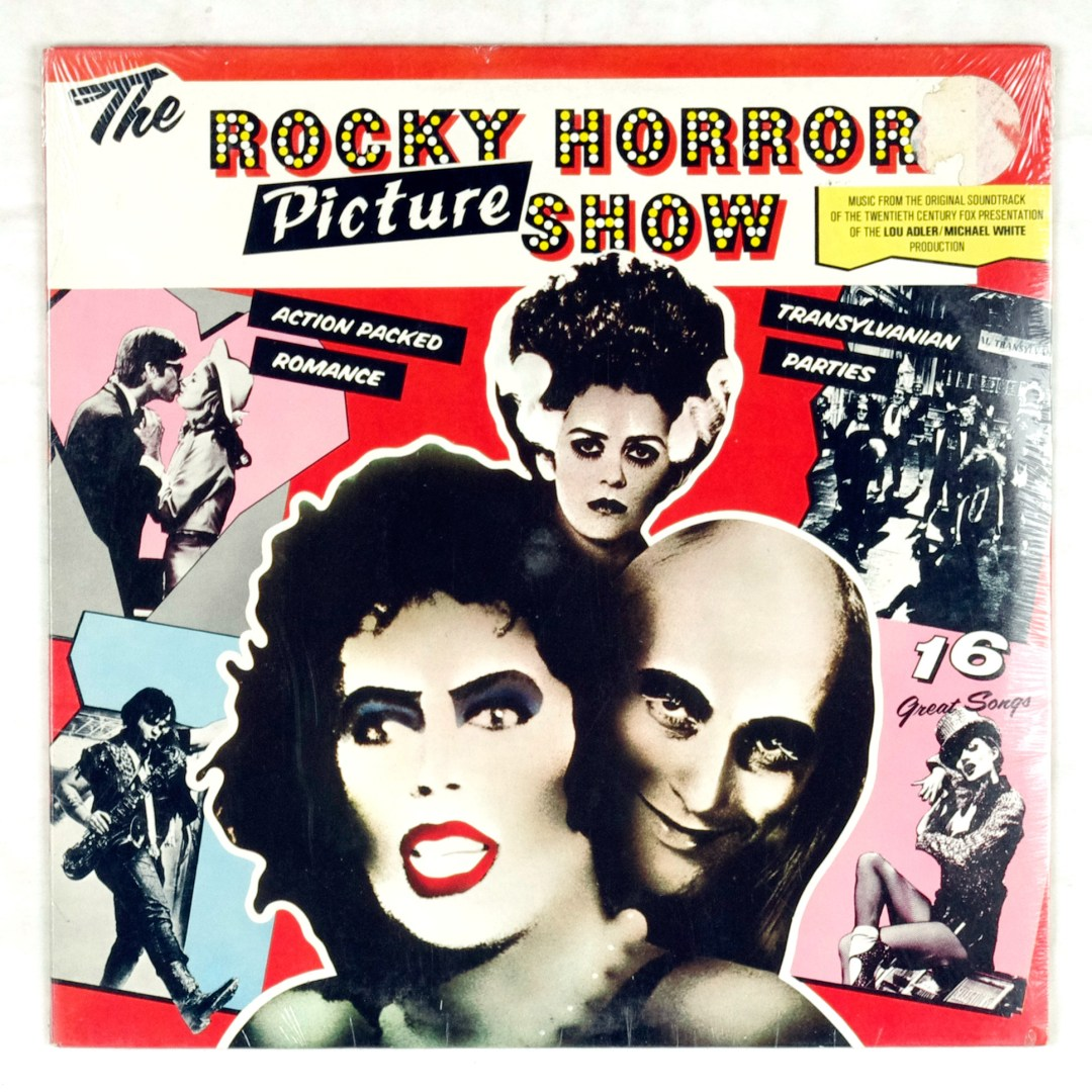 The Rocky Horror Picture Show Vinyl Original Soundtrack 1975 Factory Sealed NEW