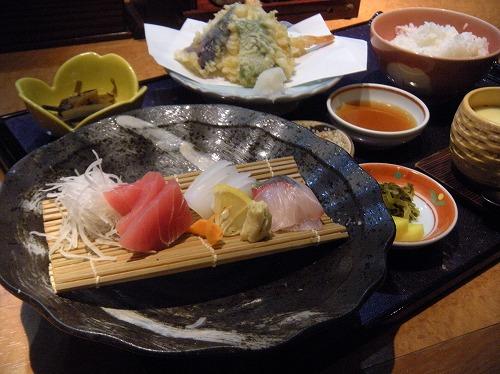 金比羅丸天ぷらランチ