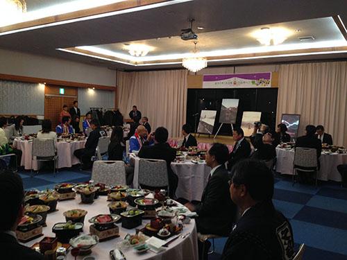 小京都の湯みくまホテルにて交流会を開催♪