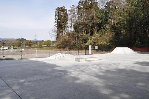 大原公園スケートボード場1