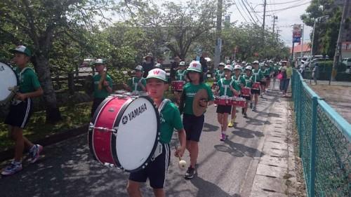 若宮小学校の鼓笛隊