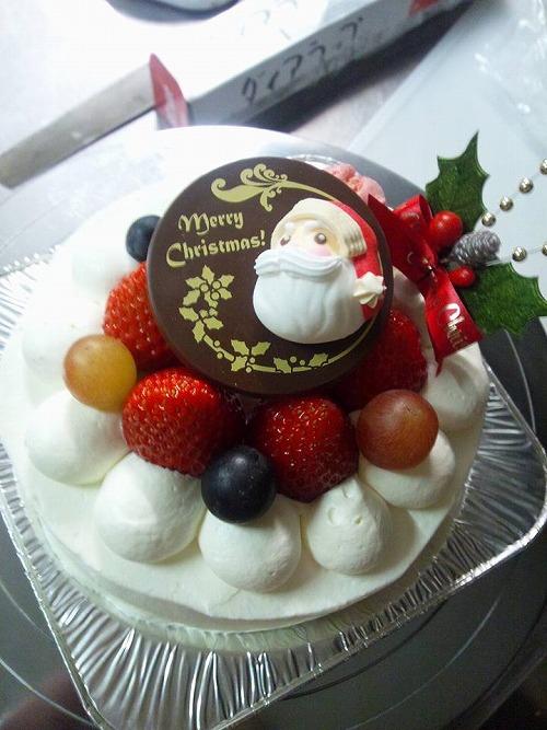 布善クリスマスケーキ