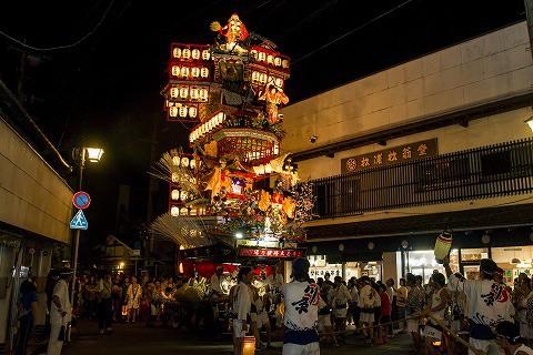 日田祇園祭(晩山) (14)