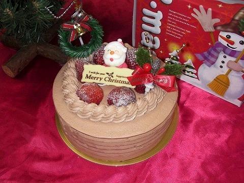元氣クリスマスケーキ