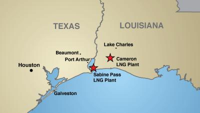 TX-LA-LNG-plants