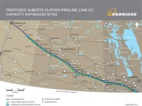 Alberta Clipper Pipeline Faces Opposition; Keystone XL Vote on Horizon