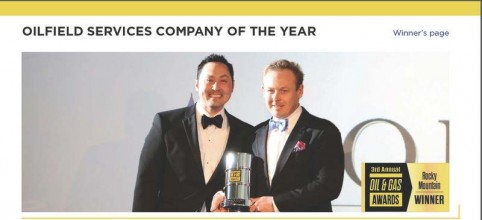 fortis wins oilfield service company of the year