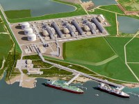 Source: Cheniere Energy Corpus Christi LNG Rendering