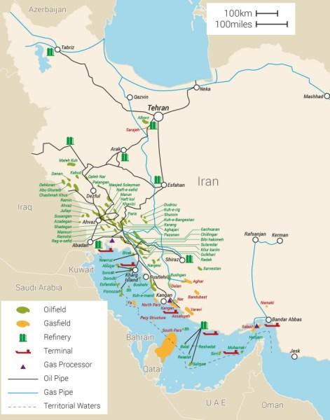 TAFT Iran Map